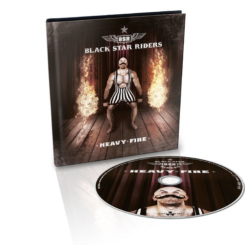 Black Star Riders: Heavy Fire: Ltd. Edition Embossed Digibook