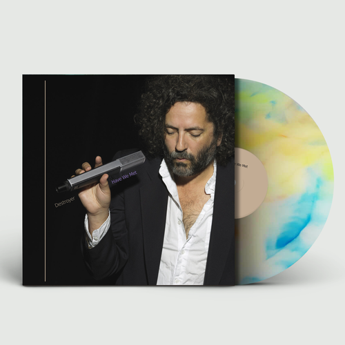 Destroyer: Have We Met: Limited Edition Natural Vinyl with Blue + Yellow Swirl with Signed Print