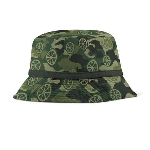 The Stone Roses: Lemon Camo Bucket Hat