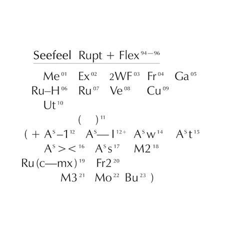 Seefeel: Rupt & Flex (1994 - 96)