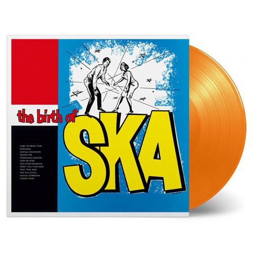 Various Artists: The Birth Of Ska: Limited Edition Orange Vinyl