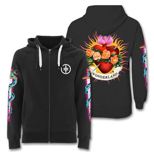 takethat: Flaming Heart Hoodie