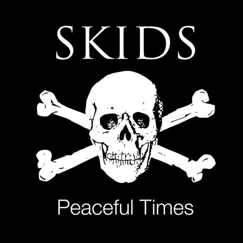 The Skids: Peaceful Times: Signed Limited Edition White Vinyl