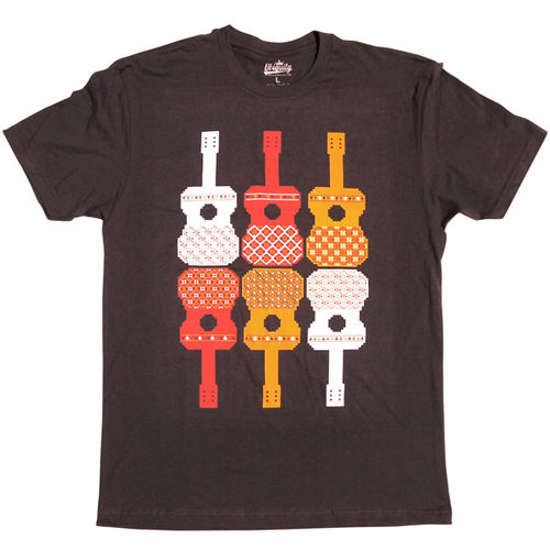 Ubiquity Records: Guitar Pattern T-Shirt