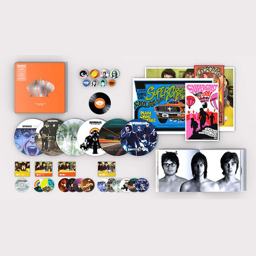 Supergrass: The Strange Ones: 1994-2008: Super Deluxe Box Set