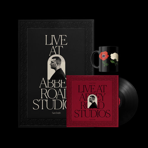 Sam Smith: Love Goes: Live At Abbey Road Studios Vinyl + Mug + Poster