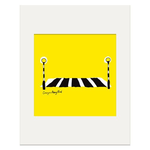 Abbey Road Studios: Abbey Road Crossing Print