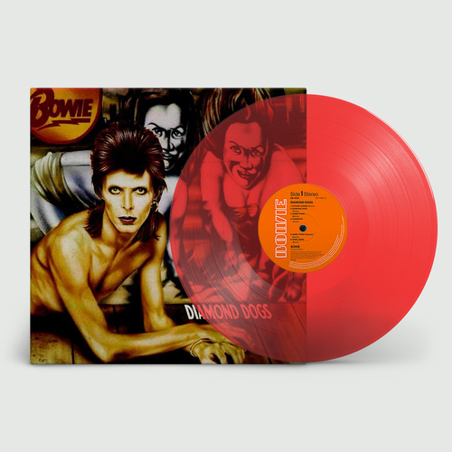 David Bowie: Diamond Dogs: 45th Anniversary Red Vinyl