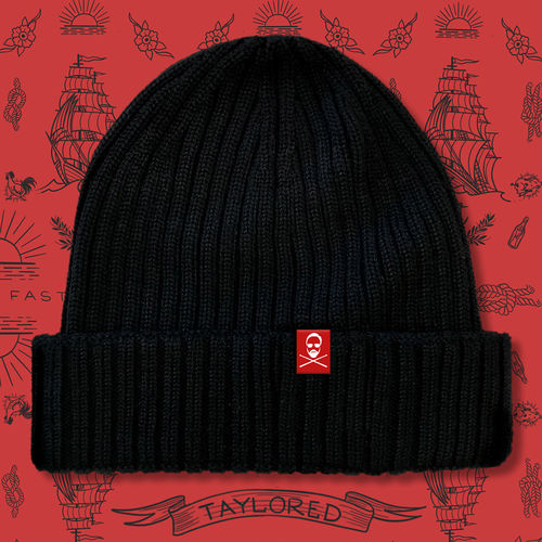 Roger Taylor: 'Taylored' Merino Wool Beanie Hat