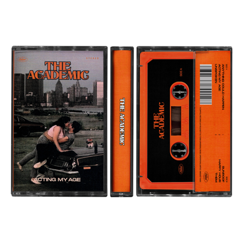The Academic : Acting My Age Orange Cassette