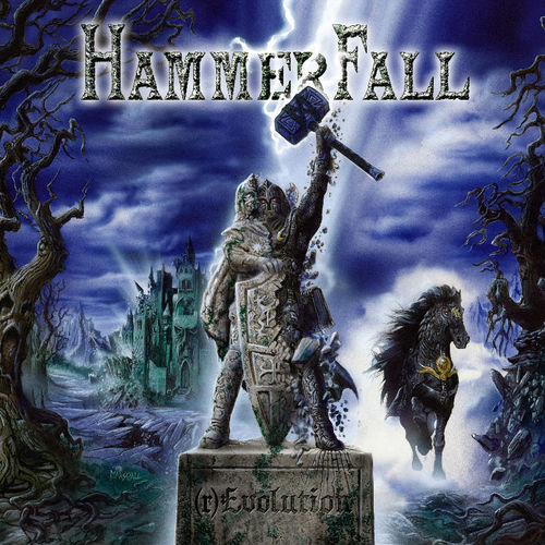 Hammerfall: (r)Evolution + Signed Print