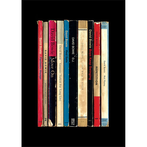 David Bowie: 'Lodger' Albums As Books Art Print