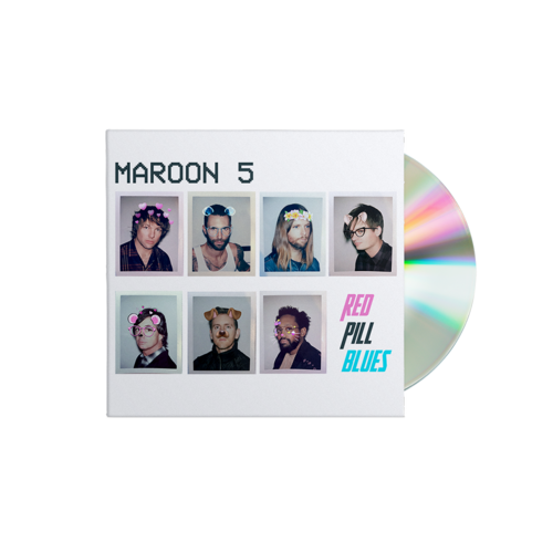 Maroon 5: Red Pill Blues CD