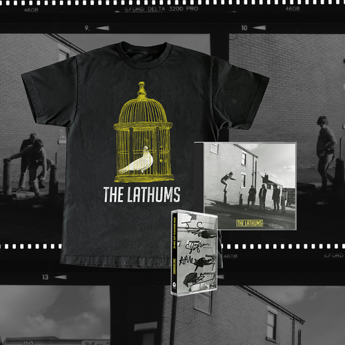 The Lathums: How Beautiful Life Can Be: Deluxe CD, Signed Deluxe Cassette & Black Tee