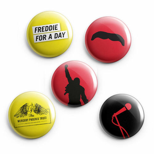 Freddie For A Day: Freddie For A Day Badge Set