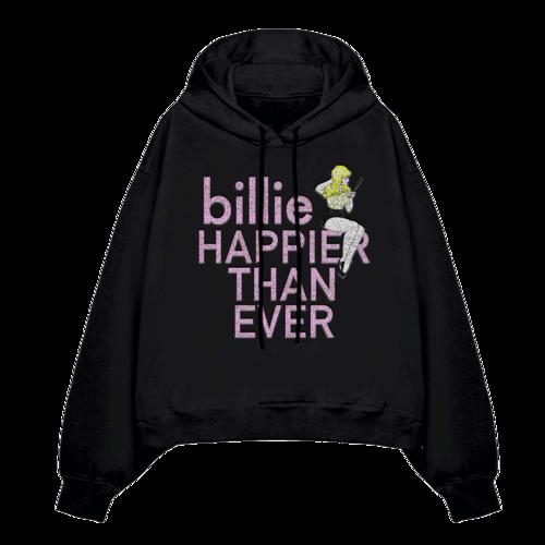 Billie Eilish: Pretty Boy Rhinestone Hoodie