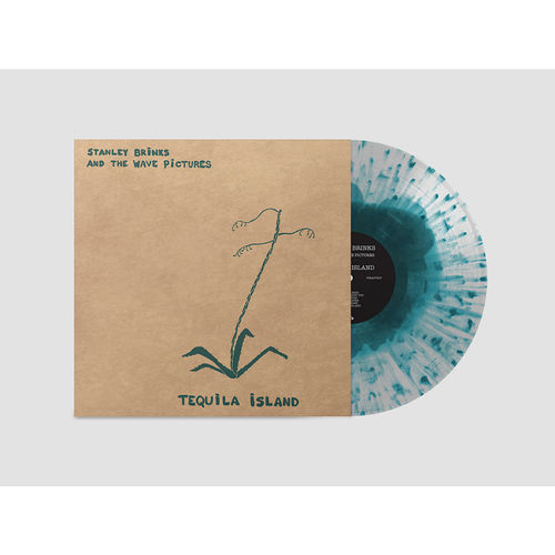 Stanley Brinks and the Wave Pictures: Tequila Island: Limited Edition Tequila and Agave Splatter Vinyl