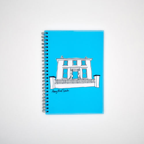 Abbey Road Studios: A5 Wiro Notebook - Blue House