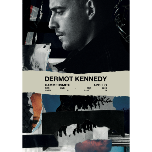 Dermot Kennedy: Limited Edition Hammersmith Show Print