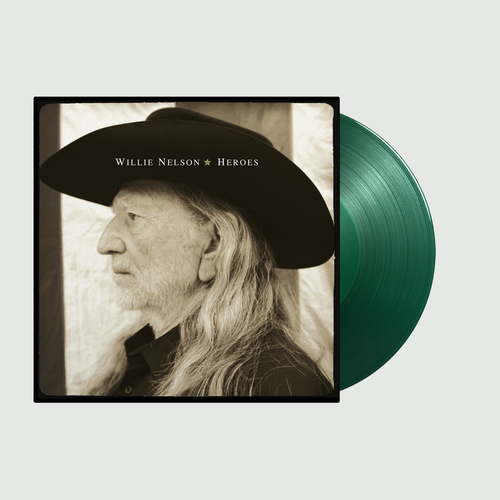 Willie Nelson: Heroes: Limited Edition Green Double Vinyl