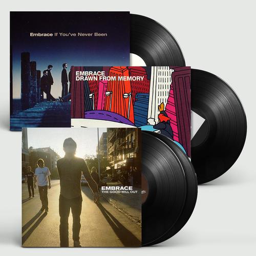 Embrace: Limited Edition Three Album Bundle
