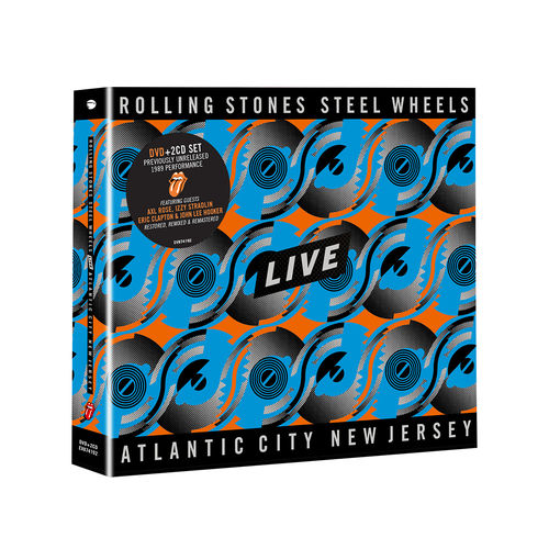The Rolling Stones: Steel Wheels Live DVD + 2CD