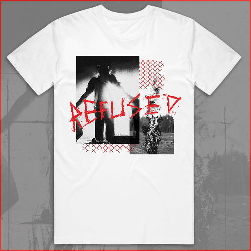 Refused: War Music White T-Shirt