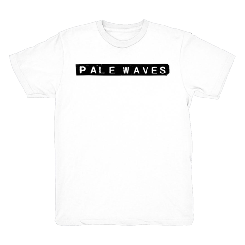 Pale Waves: White Tee