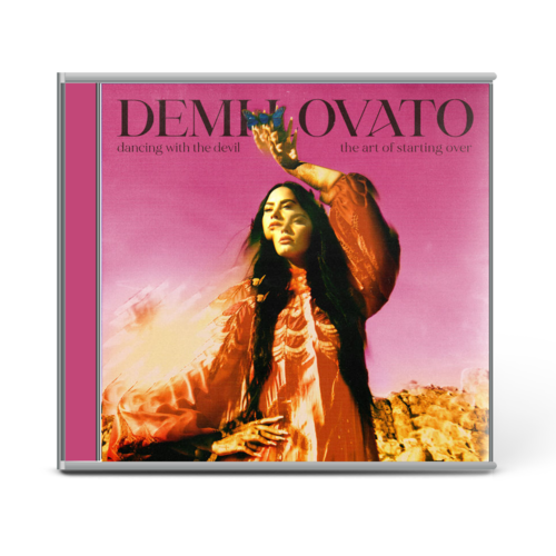 Demi Lovato: DANCING WITH THE DEVIL…THE ART OF STARTING OVER EXCLUSIVE CD COVER 2 & BONUS TRACK