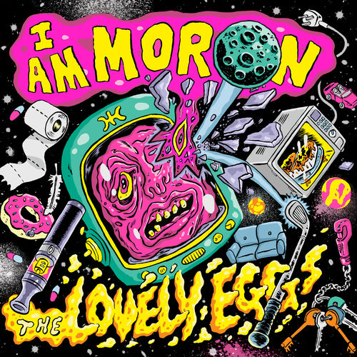 The Lovely Eggs : I Am Moron: Signed CD