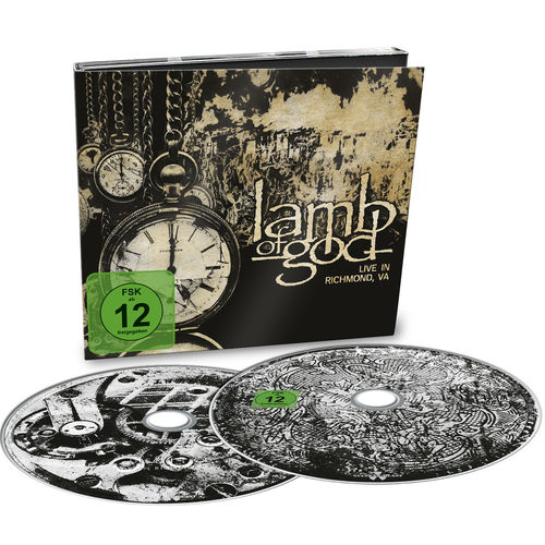 Lamb of God: Live In Richmond, VA: Limited Edition CD + DVD Digipack