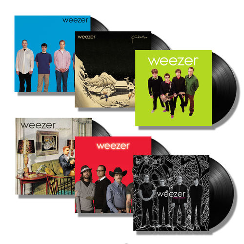 Weezer: The First Six Albums - Vinyl Bundle