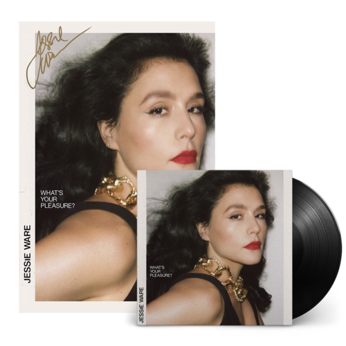 Jessie Ware: LP & Ltd Ed Hand Numbered Signed Album Art Print