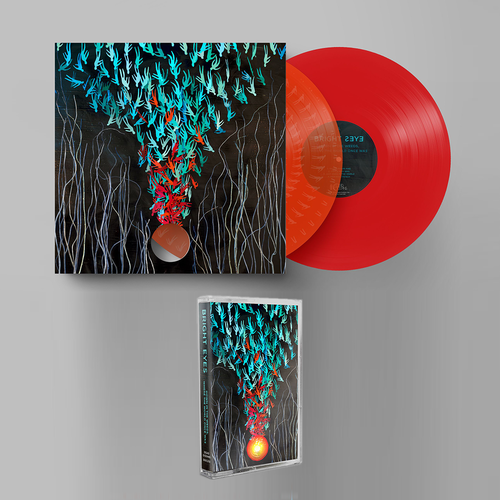 Bright Eyes: Down in the Weeds, Where the World Once Was: Limited Edition Transparent Orange + Red Double Vinyl 2LP, Cassette + Exclusive Signed Print