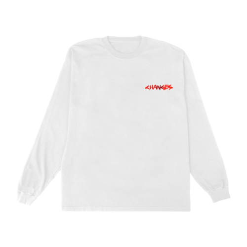 Justin Bieber: CHANGES PHOTO LONGSLEEVE T-SHIRT II