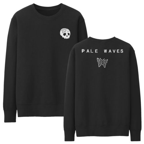 Pale Waves: Skull Sweatshirt + Black Cassette