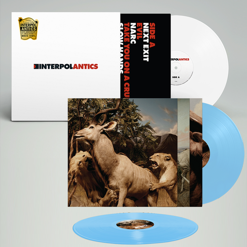 Interpol: Our Love To Admire / Antics: Limited Edition Colour Vinyl Reissue Bundle