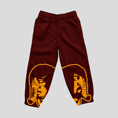 Death From Above 1979: DFA Logo Sweatpants Burgundy