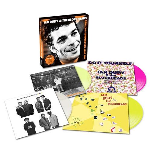 Ian Dury & The Blockheads: The Stiff Recordings 1977 – 1980: Colour Vinyl Box Set