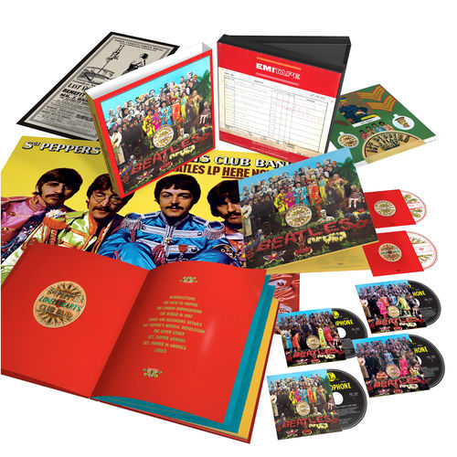 The Beatles: Sgt. Pepper's Lonely Hearts Club Band Anniversary Super Deluxe Edition