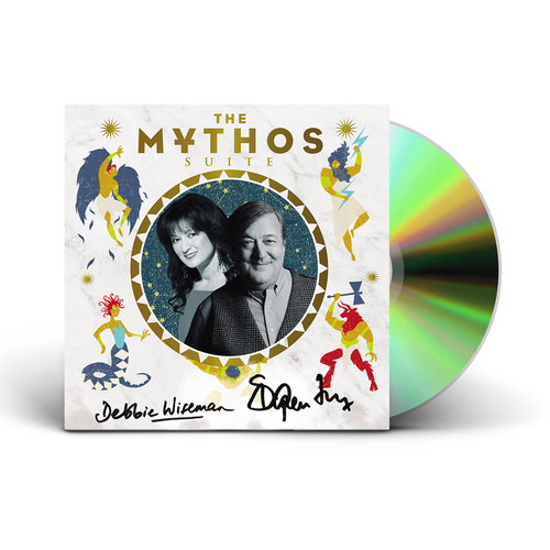 Stephen Fry and Debbie Wiseman : The Mythos Suite - Signed CD