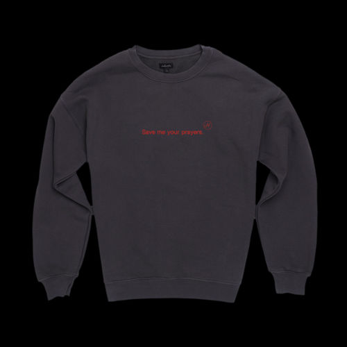 Halsey: Nightmare Crewneck (Black) - S