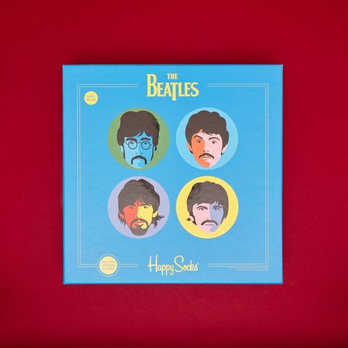 Happy Socks: The Beatles Collector Box Set of Socks (S/M)