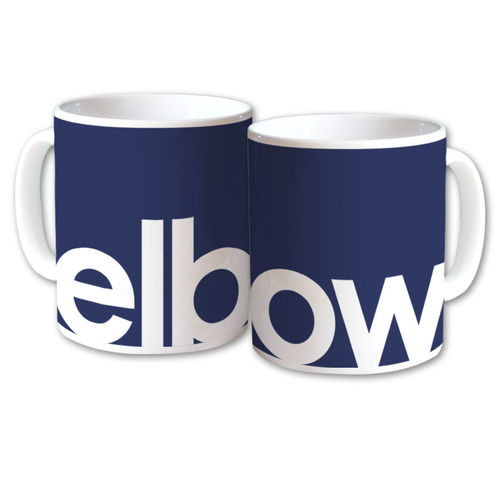 Elbow: Logo Cutout Mug