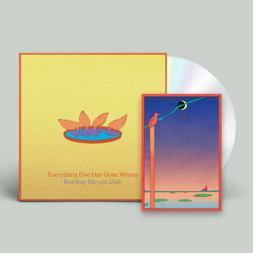 Bombay Bicycle Club: Everything Else Has Gone Wrong: Signed CD + Poster