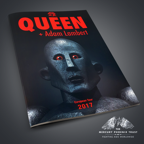 Queen + Adam Lambert: Queen And Adam Lambert Tour Programme 2017