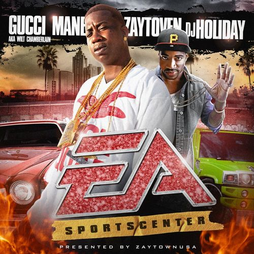Gucci Mane & Zaytoven: EA Sportscenter: 180g Red Vinyl