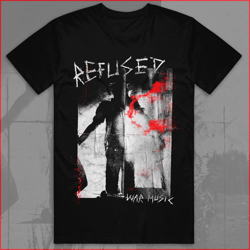 Refused: War Music Black T-Shirt