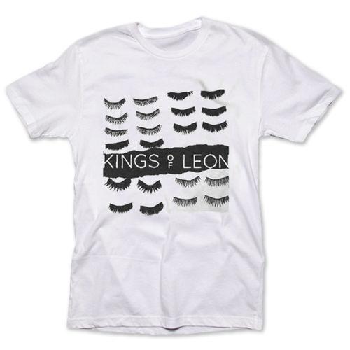 Kings Of Leon: White Eyelashes Tee