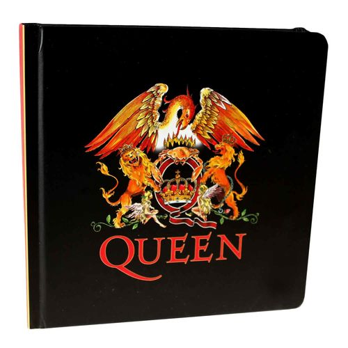 Queen Crest Notebook